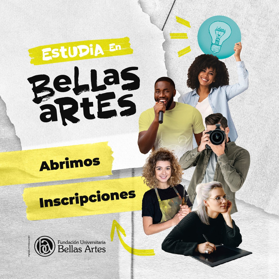 Inscripciones Bellas Artes