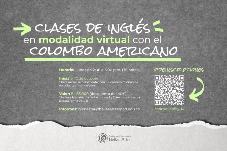 Clases de inglés (Virtual) – Colombo Americano