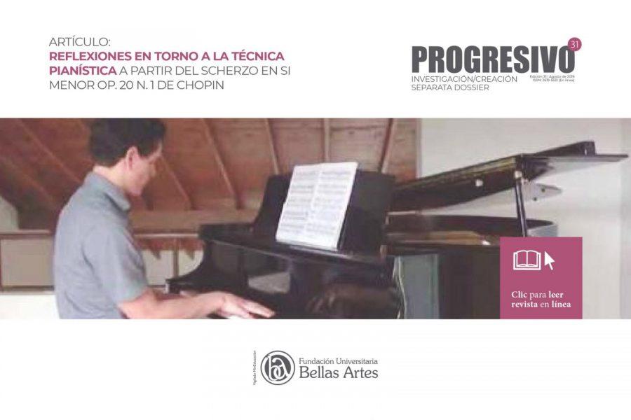 Reflexiones en torno a la técnica pianística a partir del Scherzo en Si Menor OP.20 N.1 de Chopin