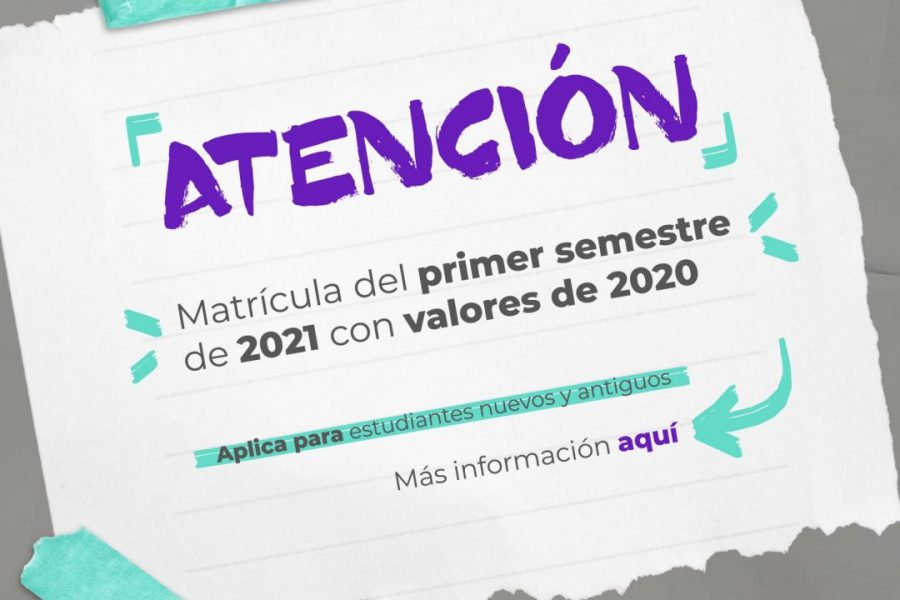 Información aumento semestre 2021-1
